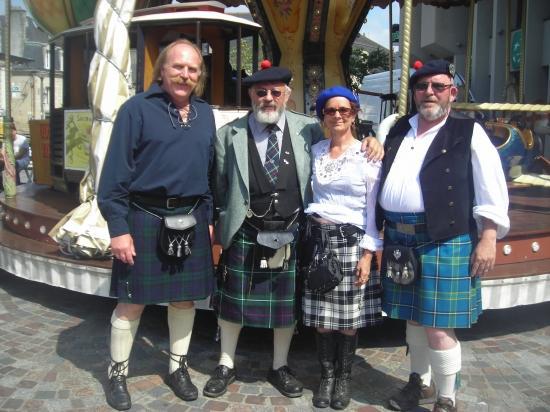 ceinture kilt écossais