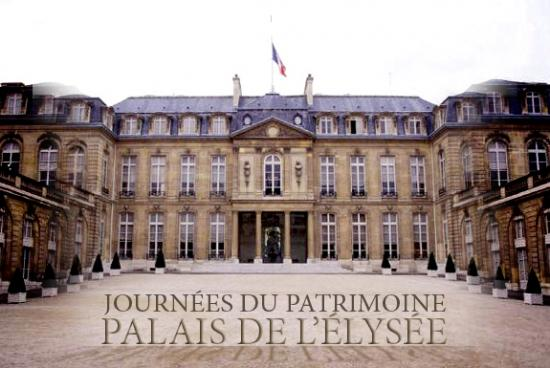 palais de l 39 elys e journ es du patrimoine. Black Bedroom Furniture Sets. Home Design Ideas