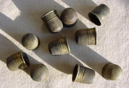 Thimbles from the General Abbatuccci