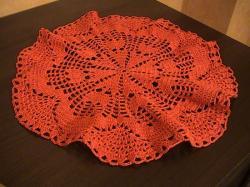 napperon rond crochet