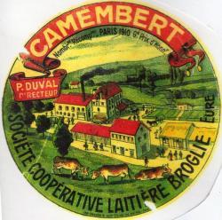 Laiterie du Moulin de Prey en 1910 à l'époque de P. Duval