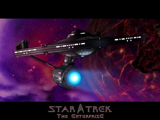 Fond d'écran de l'Enterprise