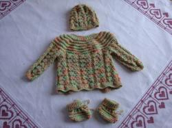 kit naissance, 70% coton 30% laine