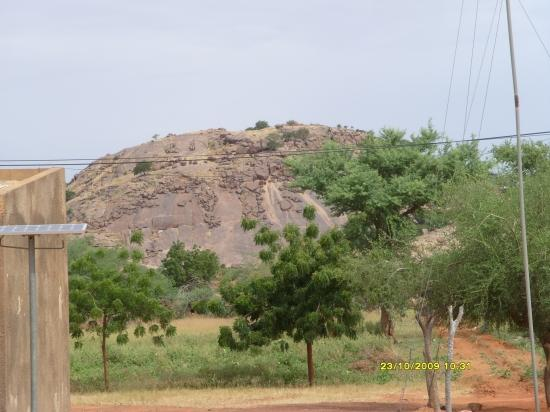 Les collines granitiques d'Arbinda