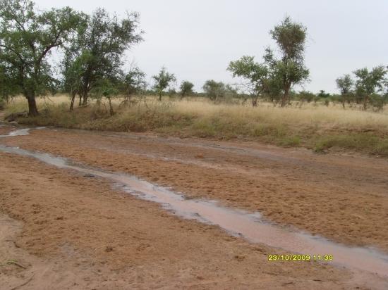 Un passage d'eau