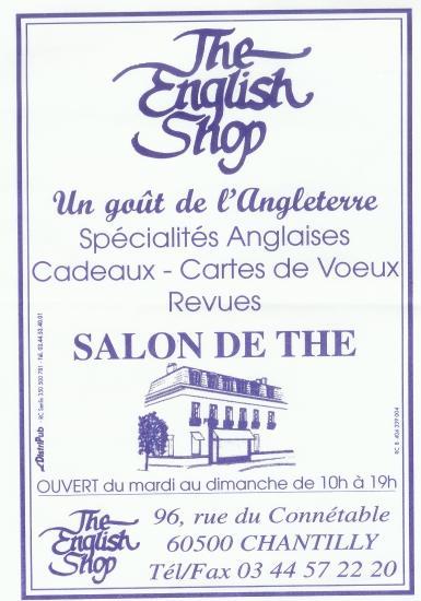The English Shop