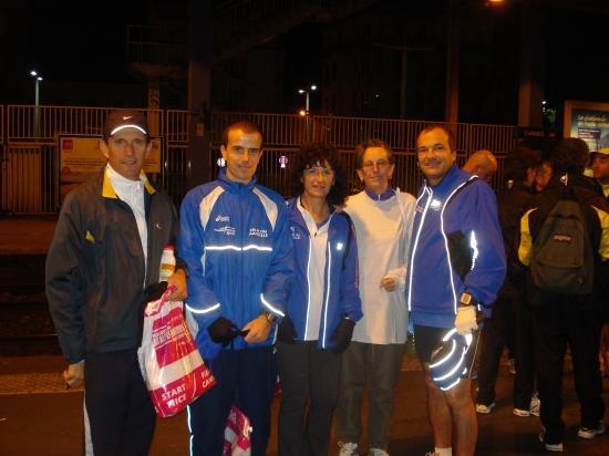 Marathon de Nice, Départ de la gare de Cannes