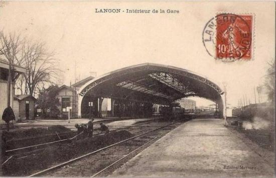 Tvx en gare de Langon
