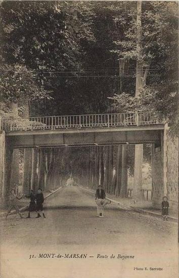 Pont rte de Bayonne