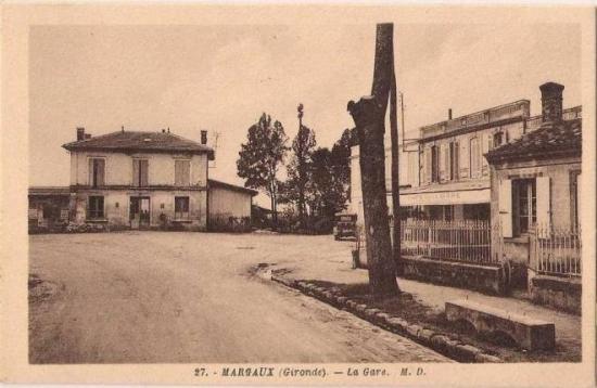 Cour d'arrivée Margaux