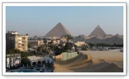 Pyramides de Khéops et Képhren