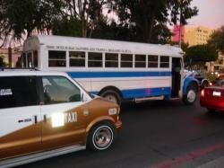 Tijuana - Bus o taxi?