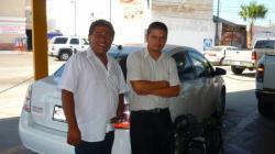 Baja California Sur - Cristhian y Jose Luis, mis dos companeros de viaje en BC