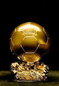 Trophé ballon d'or