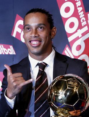 Ronaldihno - Ballon d'or 2005