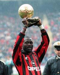 George Weah - Ballon d'or 1995