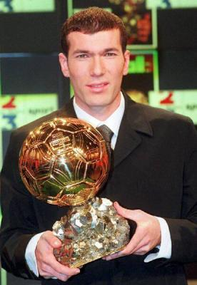 Zinedine Zidane - Ballon d'or 1998
