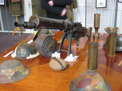 Souvenirs de guerre à Château-Thierry dans l'Aisne