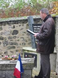 Cérémonie du 11 novembre à Sommelans dans l'Aisne
