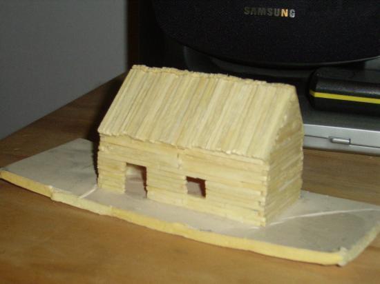 qui je suis et comment je me suis mit a faire des maquettes en allumettes. Black Bedroom Furniture Sets. Home Design Ideas