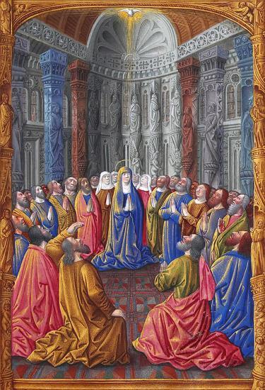 Les Très Riches Heures du duc de Berry, Folio 79r. Musée Condé, Chantilly