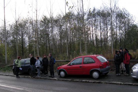 Au départ de la rando à Valmondois
