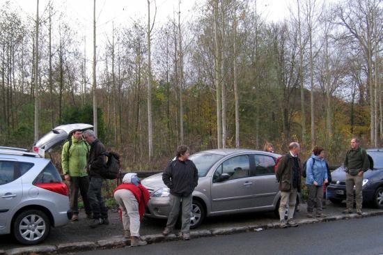 Notre parking à Valmondois