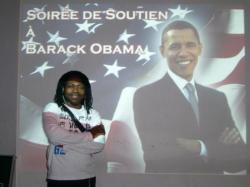 soirée de soutien à Barack Obama à Lyon