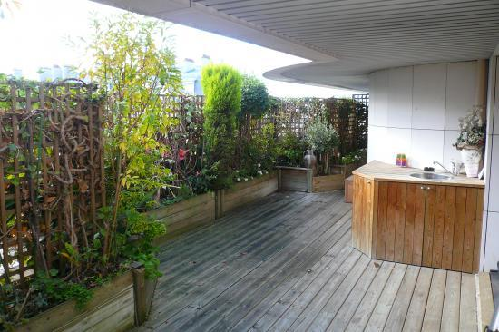Terrasse - Amenagement appartement 40m2 ...