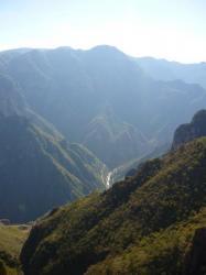 La Bufa - vista sobre el canyon de Batopilas