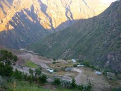 La Bufa - Vista sobre la communidad de Curachi