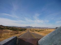 Villa Hidalgo - Vista desde la camionetta