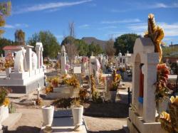 Sombrerete - Vista sobre el colorado cemeterio