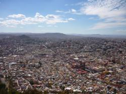 Zacatecas - vista sobre la ciudad desde el Cerro de La Bufa