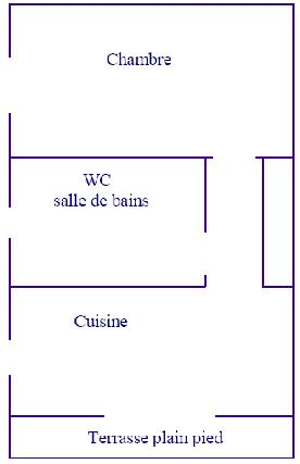 Appartements 30m² - 3 pers