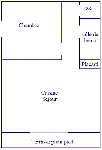 Appartements 30m² - 4 pers