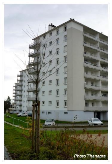 Immeubles à Audincourt
