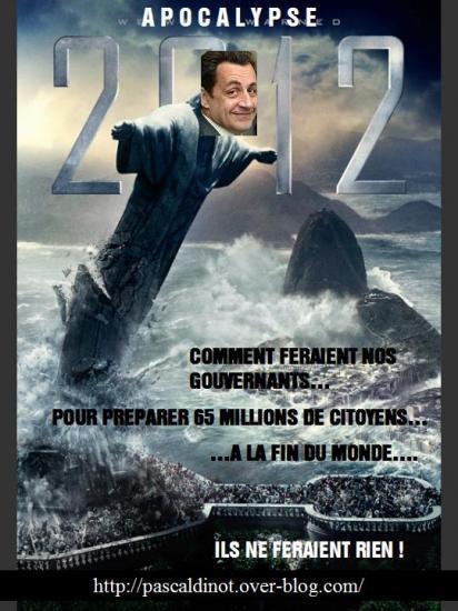 parodie fausse affiche cinema film 2012