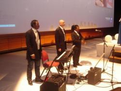 Palais des congrès de Lyon avec Kwassio Ocean Gospel