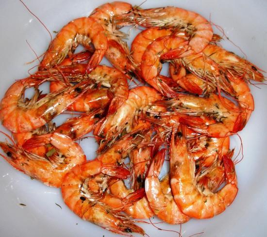 Crevettes kung pao au barbecue - Marinade gambas grillees au barbecue ...