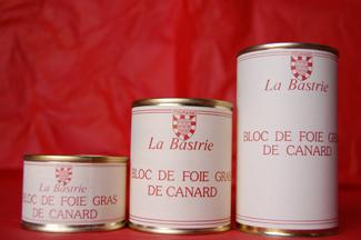 Bloc de foie gras de canard