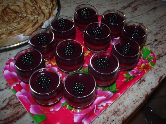 dessert aux fruits du jardin