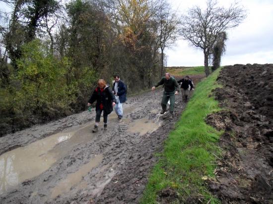 La boue encore