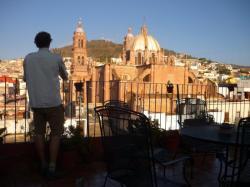 Zacatecas - vista desde el balcon del albergue