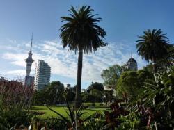 Arrivee a Auckland