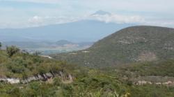 Hasta Oaxaca - Vista sobre Popocatepetl
