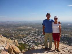Peña de Bernal - Hector y Lilian
