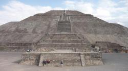 Teotihuacan - El templo del sol