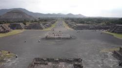 Teotihuacan - Vista sobre la ciudad