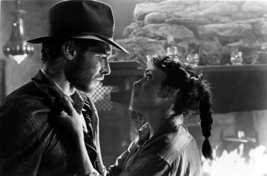 Harrison Ford et Karen Allen
